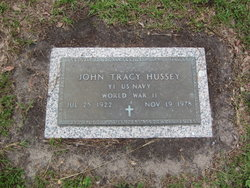 John Tracy Hussey, Sr