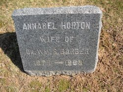 Annabel <I>Horton</I> Barber