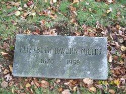 Elizabeth <I>Davern</I> Miller