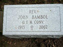 Fr John Bambol