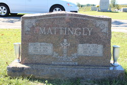 Eula Jane <I>Miller</I> Mattingly