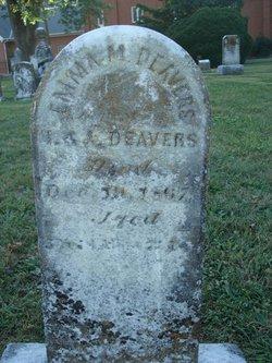 Emma M. Deavers