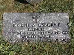 Joseph A Osborne