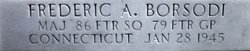 "Maj Frederic Austin ""Fred"" Borsodi"