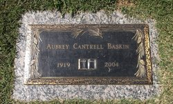 Aubrey Cantrell Baskin