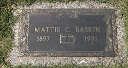 Mattie E <I>Crockett</I> Baskin