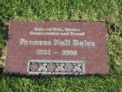 Frances Vivian <I>Nall</I> Bales