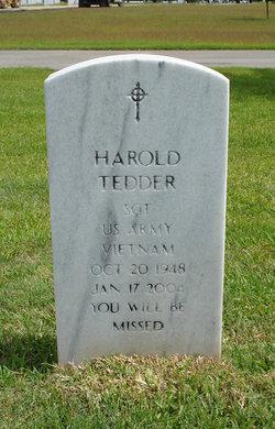 Harold Tedder