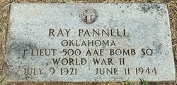 """1LT Ray """"Buddy"""" Pannell"""