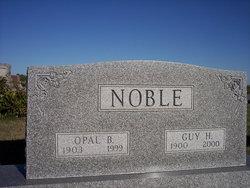 Opal <I>Lewis</I> Noble
