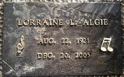 Lorraine Louise <I>Bratten</I> Algie