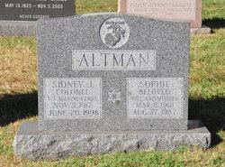Col Sidney J Altman