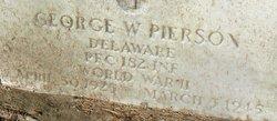 PFC George Wheeler Pierson