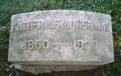 Katherine <I>Wanamaker</I> Moherman
