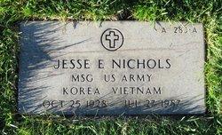 Sgt Jesse E. Nichols