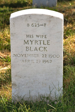 Myrtle <I>Black</I> Pickett