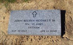 """John Reuben """"Reuben"""" Hodnett, Sr"""