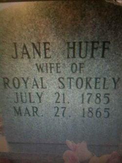 Jane <I>Huff</I> Stokely