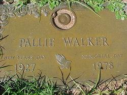 "Ola Palestine ""Pallie"" <I>Brown</I> Walker"