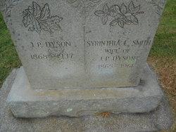 Syrynthia Loutilla <I>Smith</I> Dyson