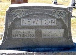 Annie E. <I>Jones</I> Newton
