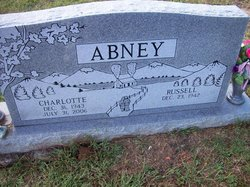 Charlotte Ann <I>McIntosh</I> Abney