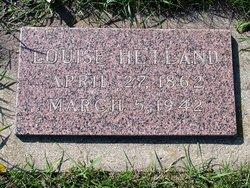 Louise <I>Lawson</I> Hetland