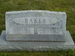Bertha M. <I>Rice</I> Baker