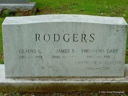 Theodora <I>Carr</I> Rodgers