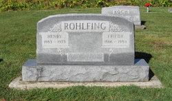 """Heinrich Ferdinand """"Henry"""" Rohlfing"""
