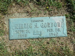 Minnie A. Gordon
