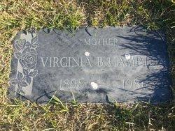 Virginia Belle <I>Rose</I> Hampton