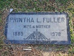 Printha Lillian <I>Ruyle</I> Fuller