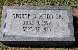 George D Mudd, Sr