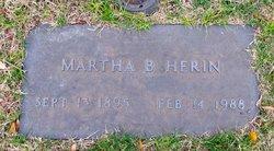 Martha Beck <I>Wilson</I> Herin