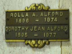 Dorothy Jean <I>Bell</I> Alford