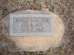 Mabel <I>Hanks</I> Haggard