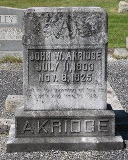 John Wesley Akridge