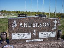 Doris Evelyn <I>Andrew</I> Anderson