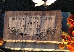 """Deborah Ann """"Debbie"""" Evans"""
