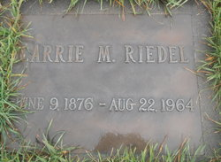 Carrie M. Riedel