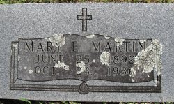 Mary E Martin