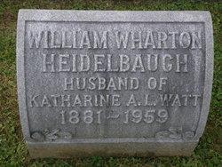 William Wharton Heidelbaugh
