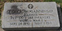 Pvt George W. Ganninger