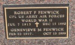 Genevieve Marie <I>Dworak</I> Fenwick