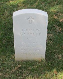 John W Garrett