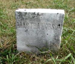 Martha Hobson