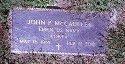 John P. McCaulley