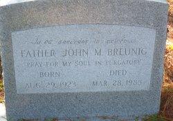 Fr John Miles Breunig