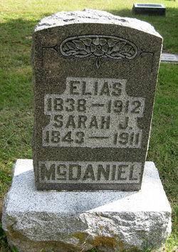 Sarah Jane <I>Jenkins</I> McDaniel